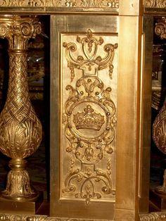 Detail of the King's Bedchamber