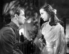 Alaan Ladd and Betty Field in a scene from The Great Gatsby