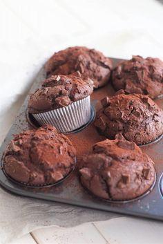 Schokoladenmuffins – oberschokoladig und süchtigmachend!