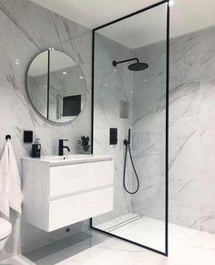 40 modern and functional bathroom design ideas for private luxury # bathroom ., 40 modern and functional bathroom design ideas for private luxury # bathroom # design # functional # ideas # luxury # modern. Bad Inspiration, Bathroom Inspiration, Bathroom Ideas, Bath Ideas, Budget Bathroom, Bathroom Layout, Interior Inspiration, Shower Ideas, Rental Bathroom