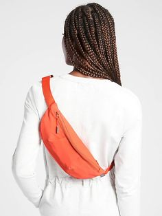 Kinetic Waist Bag | Athleta Bum Bag, Soft Hands, Bags, Safety, Zipper, Pocket, Travel, Shopping, Products
