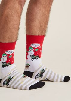 Snow-Stopper Men's Socks - Size OS