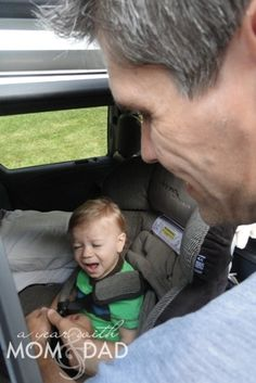 Toddler activities for road trip by A Year with Mom & Dad