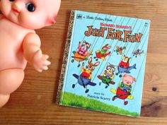 Little Golden Book. Richard Scarry's Just For Fun. Vintage Children's Book. Reprint from c. 1968. Collectible. by AntVillage on Etsy