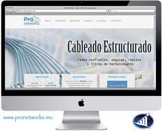 Les presentamos la nueva y rediseñada #paginaweb de ProNetworks #Saltillo. www.pronetworks.mx