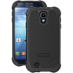 Ballistic Tough Jacket Samsung Galaxy S 4 Tough Jacket Case (black)