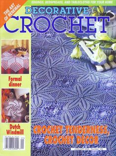 Decorative Crochet 67 - jurate - Álbuns da web do Picasa...FREE MAGAZINE!!