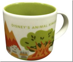 Animal Kingdom Starbucks Mugs Finally Arrive!