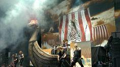 Amon Amarth... Taken 7/27/13 Tinley Park, IL. #mayhemfest2013