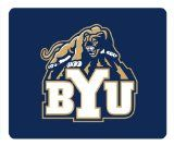 NCAA BYU Cougars Theme Mousepad, Custom Rectangle Mouse Pad by Patterncase / http://livinglds.com/ncaa-byu-cougars-theme-mousepad-custom-rectangle-mouse-pad-by-patterncase/