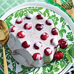 Vintage jell-o recipes that aren't disgusting: Spiced Coconut-Cherry Mold Recipe | MyRecipes.com