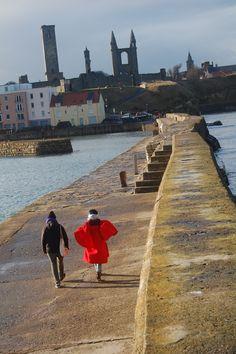 The Pier Walk.   St. Andrews, Scotland