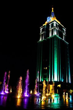 UB City: The fanciest building complex in Bangalore: built by the almost bankrupt liquor baron Vijay Mallya