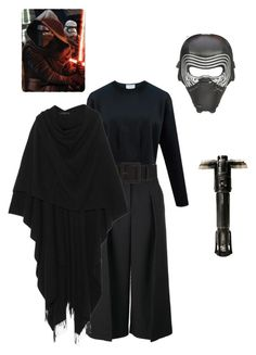 """kylo ren cosplay"" by inii-d on Polyvore featuring Erdem, Episode, The Row, women's clothing, women's fashion, women, female, woman, misses and juniors"