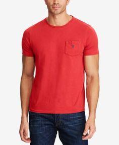 POLO RALPH LAUREN Polo Ralph Lauren Men'S Big &Amp; Tall Classic Fit Pocket T-Shirt. #poloralphlauren #cloth #shirts