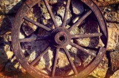 Old West Wagon Wheel Photography Rustic Fine Art by flyingbike
