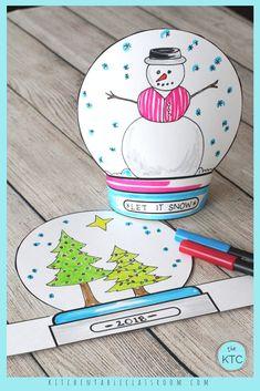 This fun snow globe