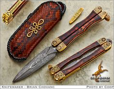 Knife Model Gallery (SOLD - Example Only)/The Stately Butterfly - Guild Knives