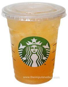 Starbucks Iced Peach Green Tea Lemonade