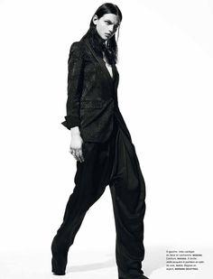 Gregory Harris captures up-and-coming models Andreea Diaconu, Erjona Ala, Karlina Caune, Mackenzie Drazan, Katryn Kruger, Ondria Hardin and Kremi forNuméro#136