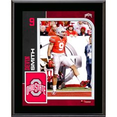 Devin Smith Ohio State Buckeyes Fanatics Authentic 10.5'' x 13'' Sublimated Player Plaque - $23.99