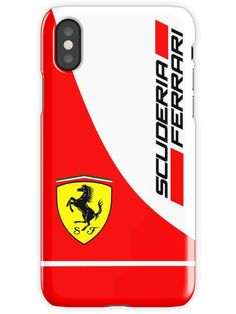 scuderia ferrari logo iPhone X Snap Case f4040df952a