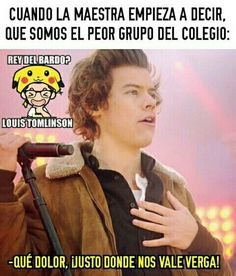 Re yo y mi curso :vv Wtf Funny, Funny Memes, Art Quotes Funny, Mexican Memes, Larry Shippers, Funny Spanish Memes, One Direction Memes, Meme Faces, I Don T Know