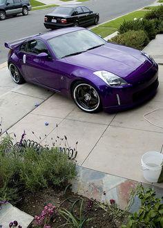 Purple 350z