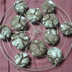 Crinkles chocolate !  Facebook page: https://www.facebook.com/Instant-Gourmand-748536655170170/