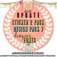 Rhonna DESIGNS: Newest Update: v 1.8 (iPhones) & v1.3.2 (Android)