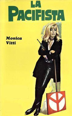 Monica Vitti - La pacifista, 1970.