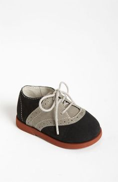 I want!-Nordstrom Baby 'Wesley' Saddle Shoe (Baby) available at #Nordstrom