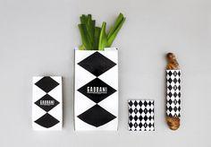 Gabbani's Modern Italian Branding in Events company BRANDING