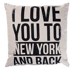 Habito Cushion New York 43cm x 43cm