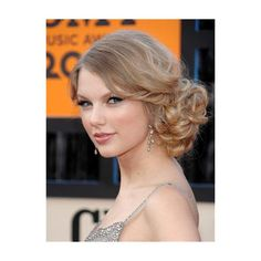 low side bun: Celebrity Hairstyles: How To Get Taylor Swift Updo Hairstyles Easy Updo Hairstyles, Pretty Hairstyles, Wedding Hairstyles, Bridesmaids Hairstyles, School Hairstyles, Elegant Hairstyles, Wedding Updo, Summer Hairstyles, Medium Hair Styles