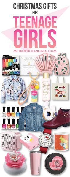Christmas Gift Ideas for Teen Girls 2017