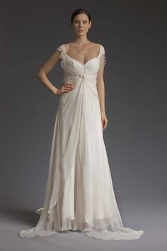 The Knot Dress by Victoria KyriaKides NY Bridal Collection. www.VictoriaKyriaKides.com  #wedding #bridaldress