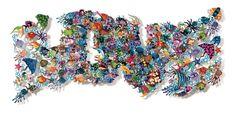"David Kracov Art - Sculptures Murales - ""Shadow Box"", ""Book of Life""... Art Sculpture, Metal Wall Sculpture, Wall Sculptures, Metal Wall Art, Keith Haring, Personnages Looney Tunes, Book Of Life, Creative Words, Fine Art Gallery"