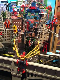 Pin for Later: See All 170+ Brand-New Toys Your Kids Will Be Begging For This Year Spiderman Play Sets Batman and Superman aren't the only superheroes getting new playsets this year. Spiderman will have a whole lineup of goods from Hasbro.