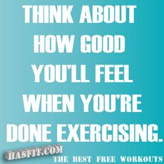 exercise quote poster - this needs to be my mantra!