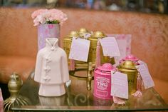 Caitlyn's Chinoiserie Themed Party – Favors (Special Chinese tea in adorable container)