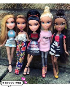 Bratz was always my fashion inspiration when I was little but I wonder why  they stop 02d43e89a9a