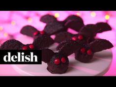 How to Make Brownie Truffle Bats - Chocolate Oreo Halloween Treats