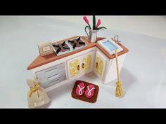 #3 DIY Miniature Dollhouse-Kitchen Stand-DIY Miniatura de Casinha de Boneca - YouTube