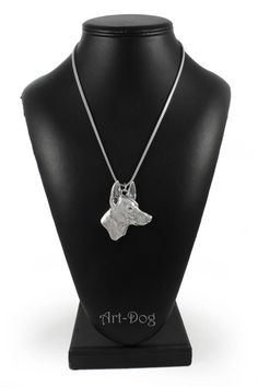 NEW Pharaoh Hound silver hallmark 925 dog by ArtDogshopcenter Pharaoh Hound, Silver Necklaces, Take That, Buy And Sell, Chain, Trending Outfits, Unique Jewelry, Handmade Gifts, Dogs