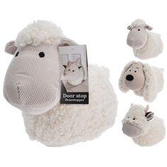 Soft Fluffy Fabric Novelty Door Stop Animal Doorstop Door Stopper Sheep Cow Dog