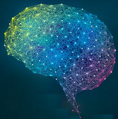 New algorithm will allow for simulating neural connections of entire brain on future exascale supercomputers Brain Illustration, Neural Connections, Brain Art, Artificial Intelligence Technology, Medical Art, Technology Background, Design Thinking, Surreal Art, Vector Graphics