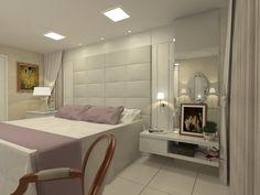 Suíte Master - Apartamento Residencial - Condomínio Ed. Cosmopolitan