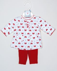 NB Girls Christmas Outfit