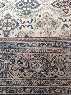 Details of an exquisite antique Sultanabad in our collection